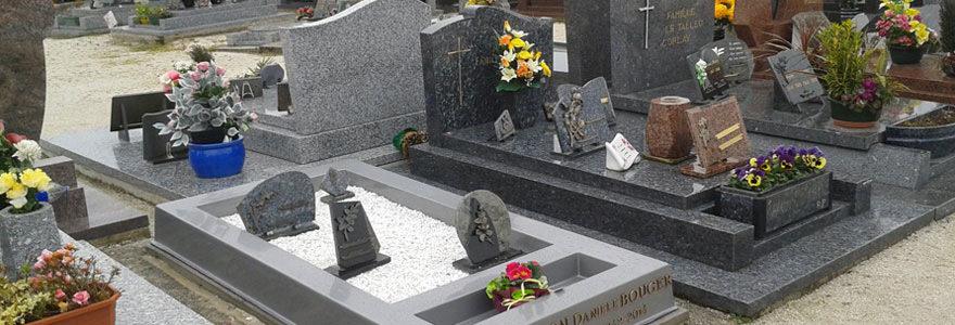 Plaque funéraire